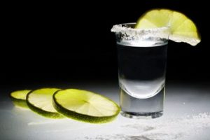 tequila en bar bogota